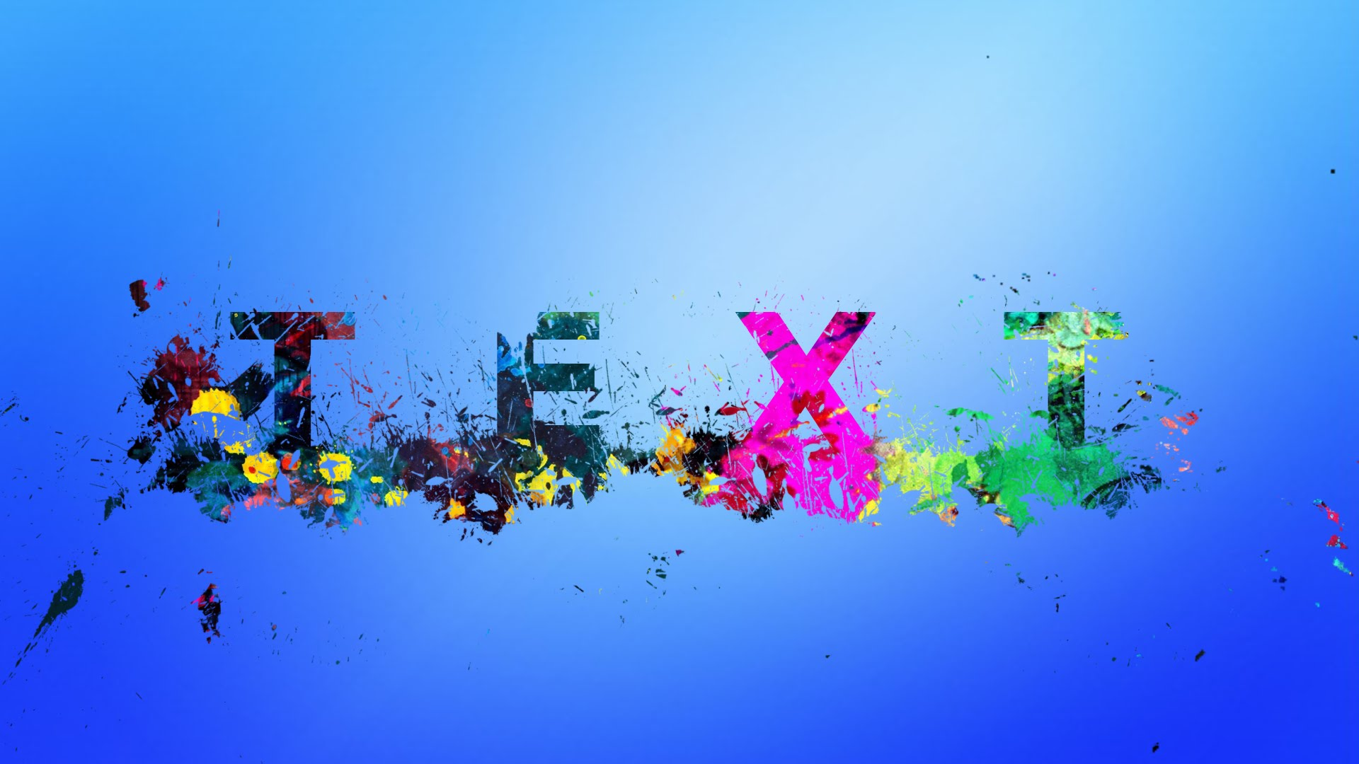 Photoshop tutorial splatter text effects adobe lessons baditri Image collections
