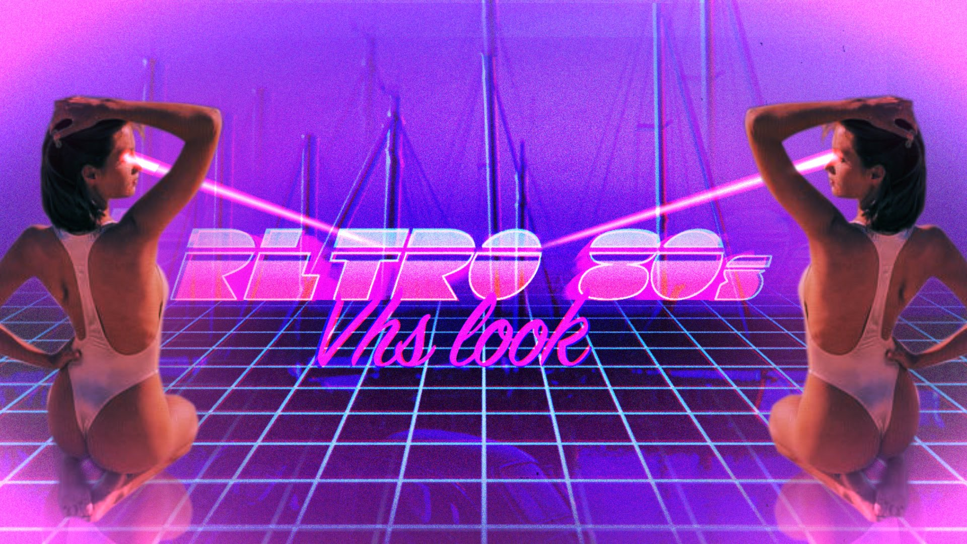 Retro 80s Intro – After Effects Motion Graphics Tutorial