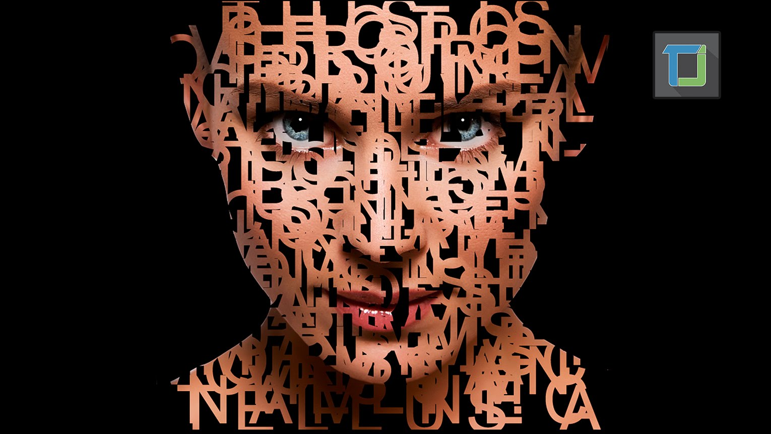 Text Portrait in Photoshop Cs6 | Photo Effects Tutorial | ADOBE Lessons