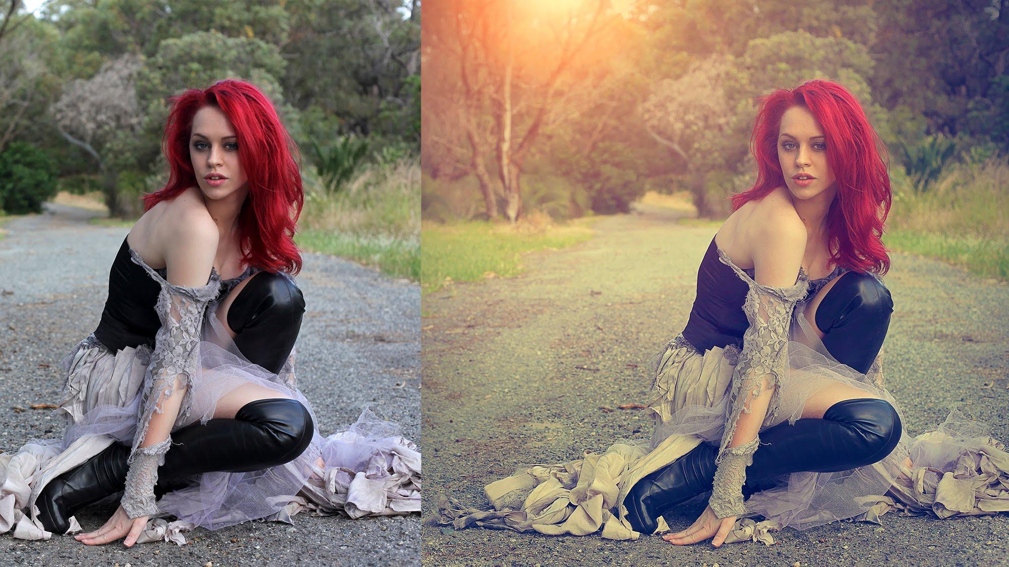 vintage soft light effect | photoshop tutorial cs6 | ADOBE