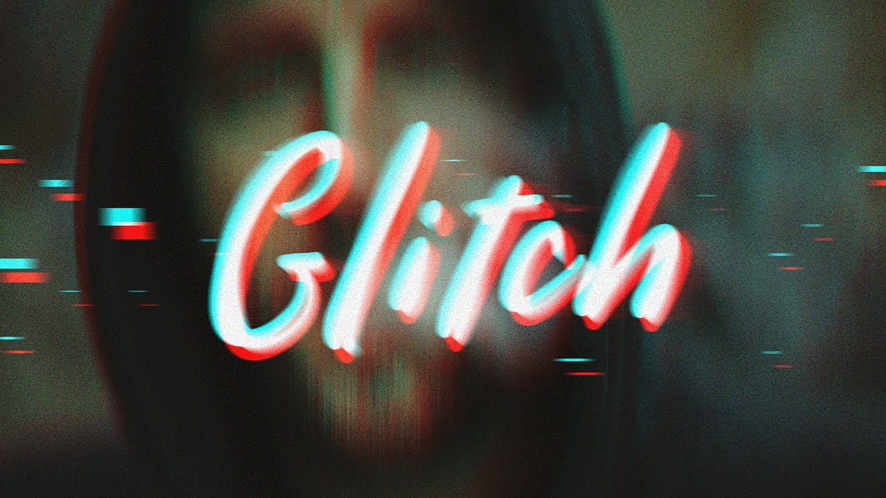 Photoshop Tutorial | Glitch Text Effect | ADOBE Lessons