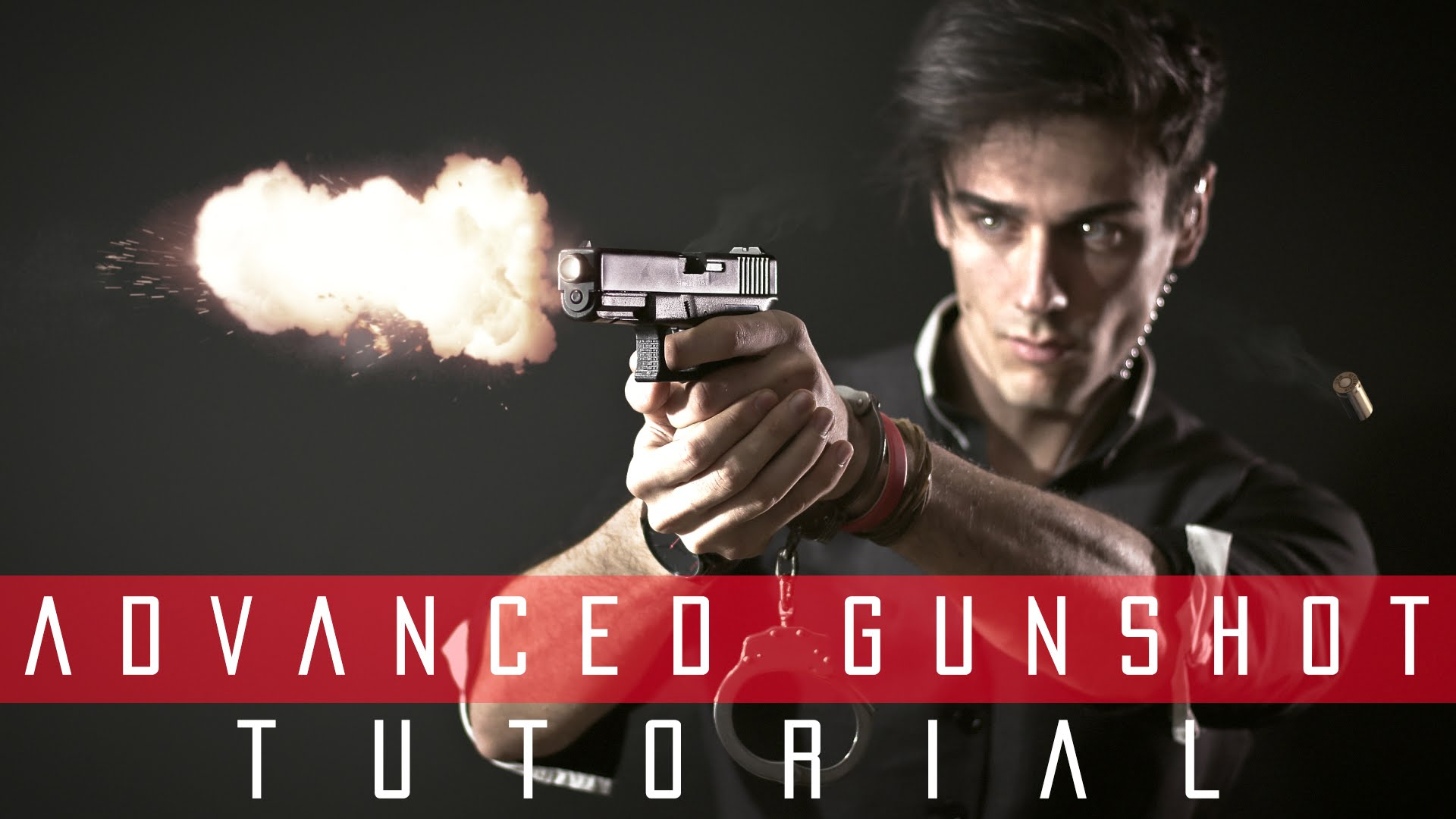 After Effects Tutorial – Advanced Cinematic Gunshot | ADOBE
